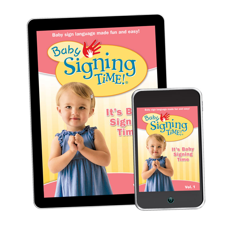 Baby Signing Time Volume 1 - It's Baby Signing Time
